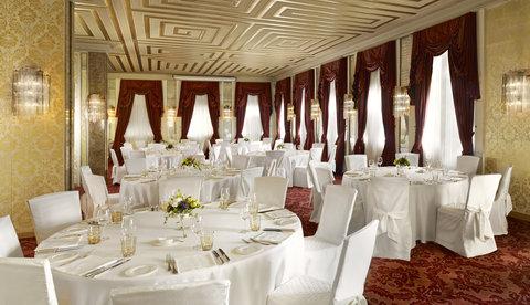 فندق دانييلي - Salone Marco Polo - banquet setup
