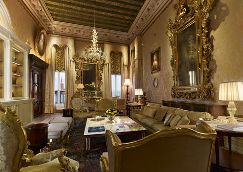 فندق دانييلي - Doge Dandolo Royal Suite - Salon