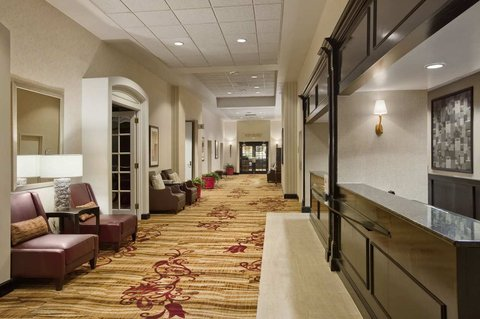Hilton Fort Wayne at the Grand Wayne Convention Center - Front Desk and Lobby