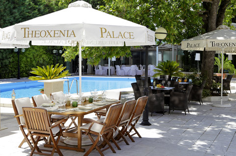 Theoxenia Palace - Theoxenia Palace - Pool Lunch