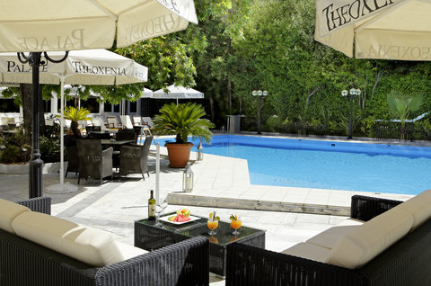 Theoxenia Palace - Theoxenia Palace - Pool Lounge