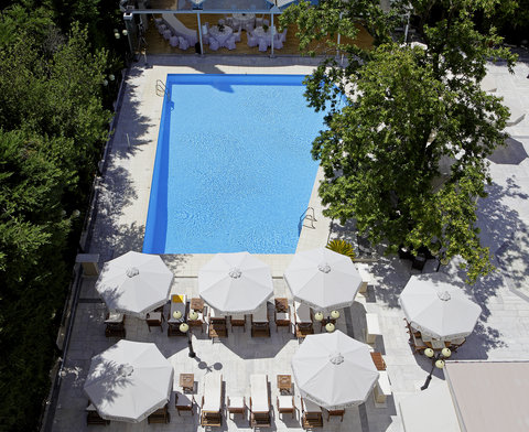 Theoxenia Palace - Theoxenia Palace - Pool Area Top View