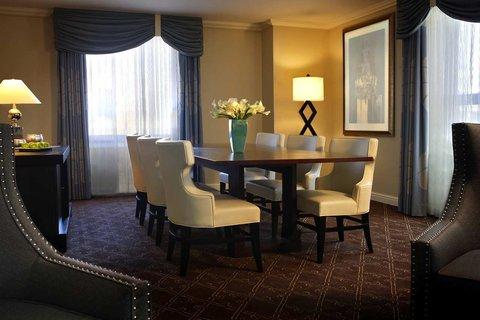 ذا بالمر هاوس هيلتون - Suite Dining Area