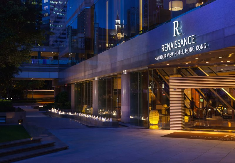 Renaissance Harbour View Hotel Hong Kong 外観