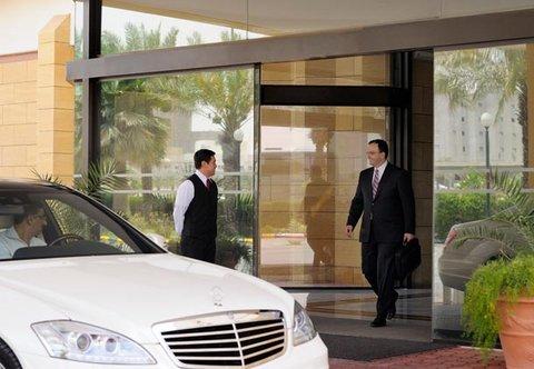 فندق ماريوت الرياض - Entrance