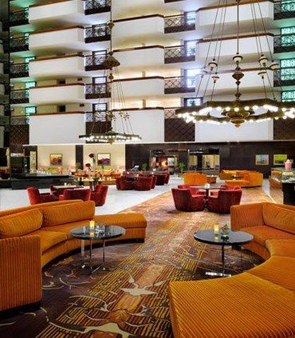 فندق ماريوت الرياض - Lobby Atrium
