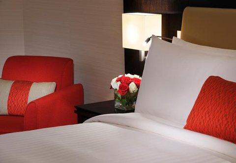 فندق ماريوت الرياض - Deluxe Guest Room Bedding