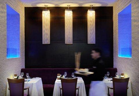 فندق ماريوت الرياض - Terrace Grill Dining Area