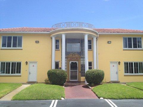 Scottish Inns Daytona Beach - Scottish Inn Dayton Beach FL  Front Entrance