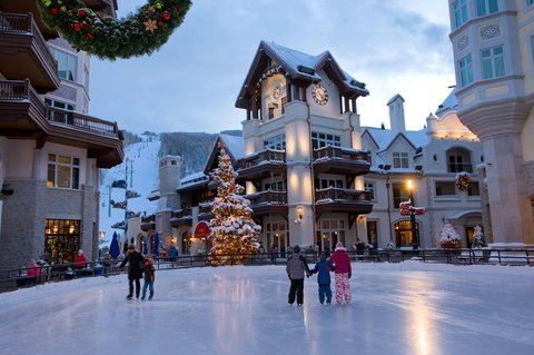 The Arrabelle at Vail Square - Vail Square Ice Rink
