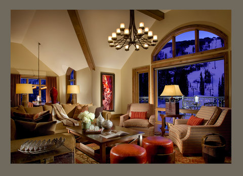 The Arrabelle at Vail Square - Penthouse Livingroom