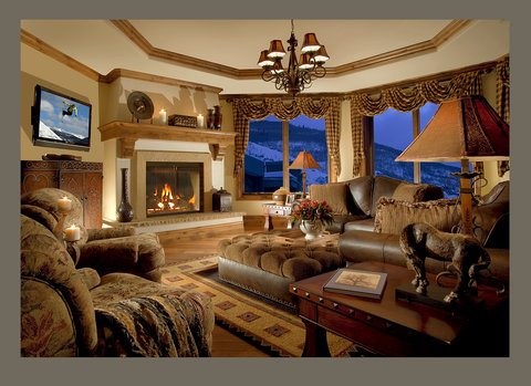 The Arrabelle at Vail Square - Penthouse Living Room