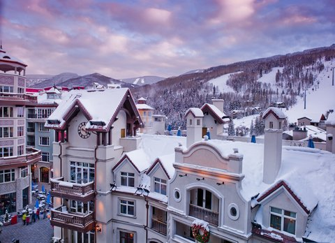 The Arrabelle at Vail Square - Penthouse Balcony