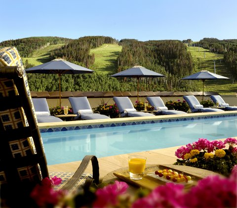 The Arrabelle at Vail Square - Outdoor Pool   Jacuzzi