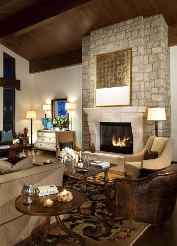 The Lodge at Vail - Chalet Living Room