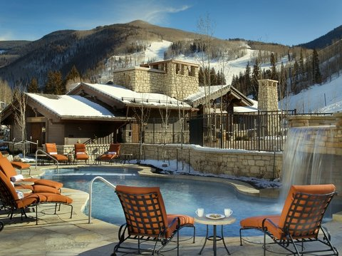The Lodge at Vail - Outdoor Pool   Jacuzzi