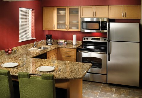 Residence Inn Montgomery - One-  Two-Bedroom Suite   Kitchen