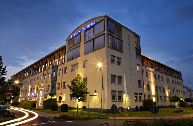 Fleming's Conference Hotel Frankfurt Widok z zewnątrz