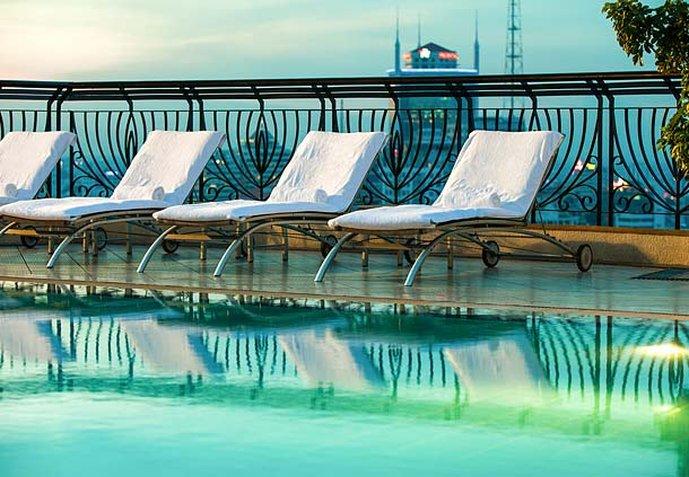 Renaissance Riverside Hotel Saigon Clube de fitness