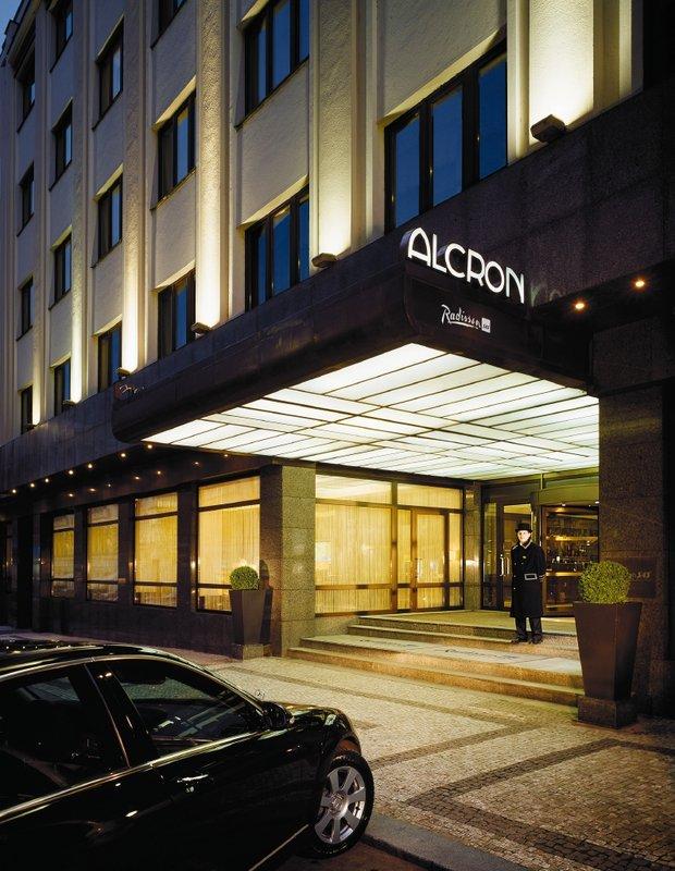 Radisson Blu Alcron Hotel Kilátás a szabadba