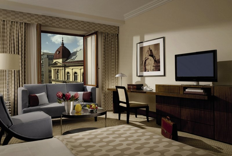 Radisson Blu Alcron Hotel Szobakilátás