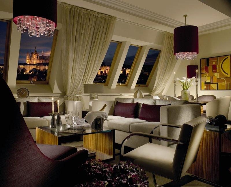 Radisson Blu Alcron Hotel lakosztály