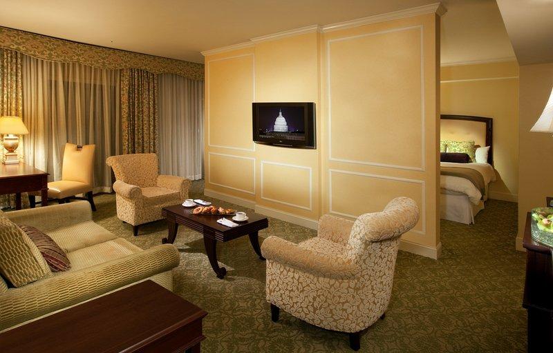 Omni Shoreham Hotel Suite