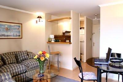 Santa Magdalena Departamentos Amoblados - Living Room