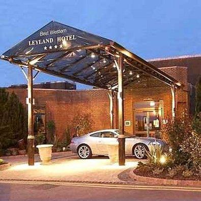 Best Western Leyland Hotel Vista exterior
