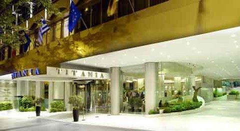 Titania Hotel - Front