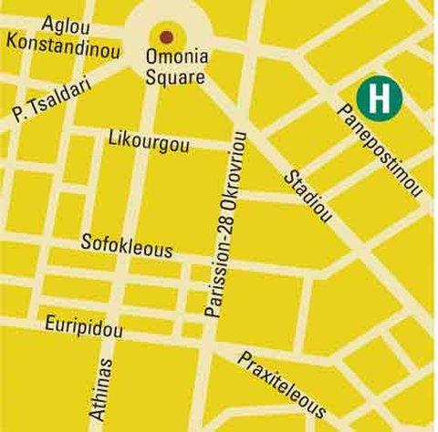 Titania Hotel - Map