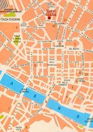 Hotel Giada Florence - Area Info