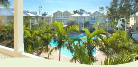 Coral Hammock - Key West - Pool view