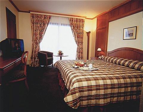 玛加尔黎巴嫩青山温泉度假洲际酒店 - Bedroom