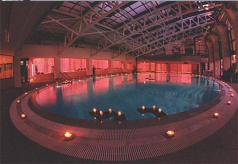 玛加尔黎巴嫩青山温泉度假洲际酒店 - Swimming Pool