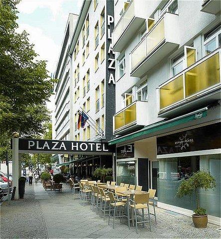 Berlin Plaza Hotel am Kurfurstendamm - Berlin Plaza am Kurfuerstendamm - Exterior