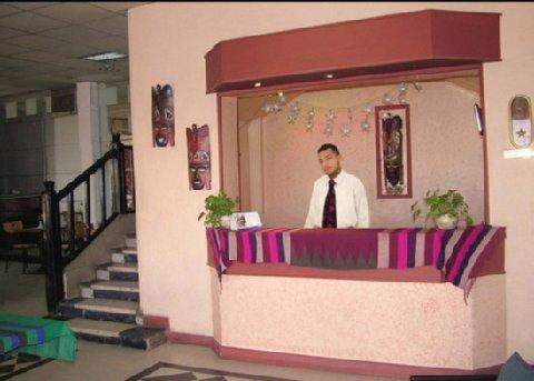 Philae Hotel - Lobby View   Reception