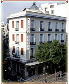 Cecil Hotel - Exterior View