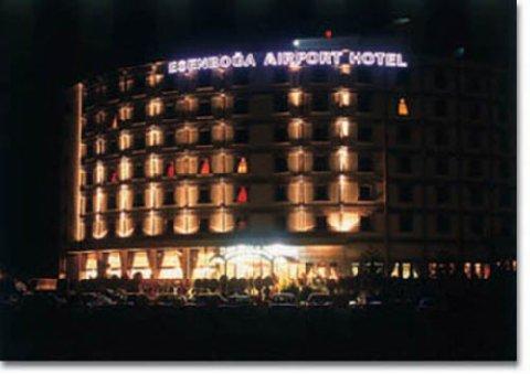 Allstar Esenboga Airport Hotel - Exterior By Night