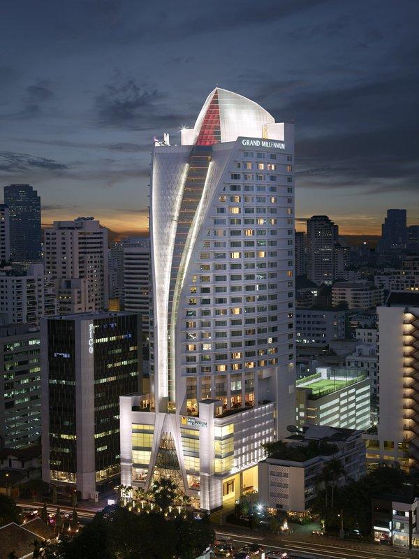 Grand Millennium Hotel Sukhumvit Bangkok Kilátás a szabadba