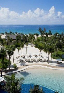 丽思卡尔顿酒店 游泳池视图