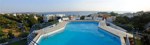 Mantina Hotel - POOL AND VIEW