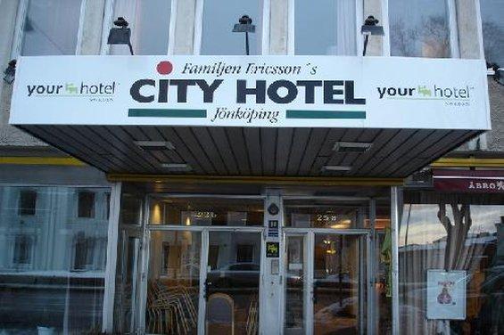 City Hotel Fam. Ericsson Pohled zvenku