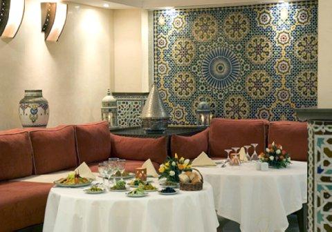 فندق جولدن تولب فرح الرباط - Restaurant