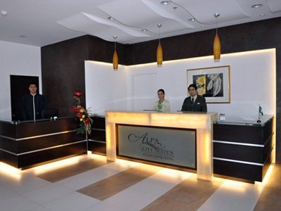 阿爾帕城市套房酒店 - Lobby View