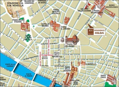 Residence Hilda - Location
