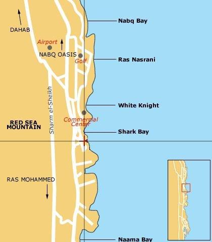 Pyramisa Sharm El Sheikh Villas And Resort - Map