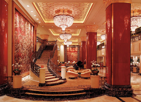 China World Hotel, Beijing - Lobby With Guest