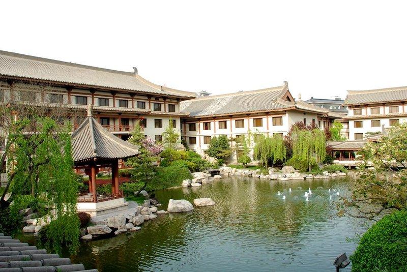 Xi'an Garden Hotel Kilátás a szabadba