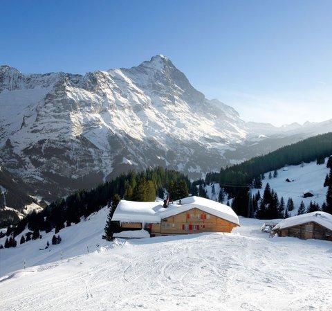 Berghaus Bort Hotel - Berghaus Bort in winter